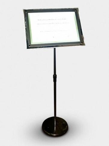 Lighting Message Stand