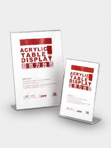 Advertising Acrylic Table Display