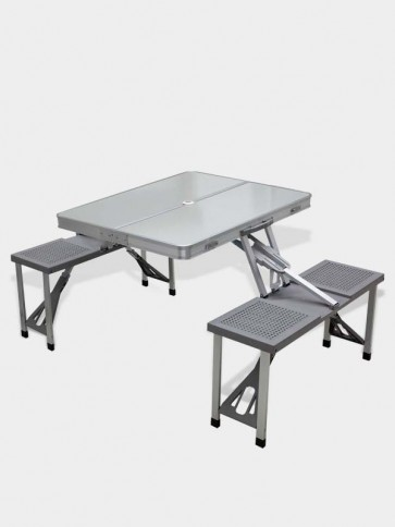 Aluminum Foldable Picnic Table