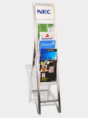 Brochure Stand with Company Header