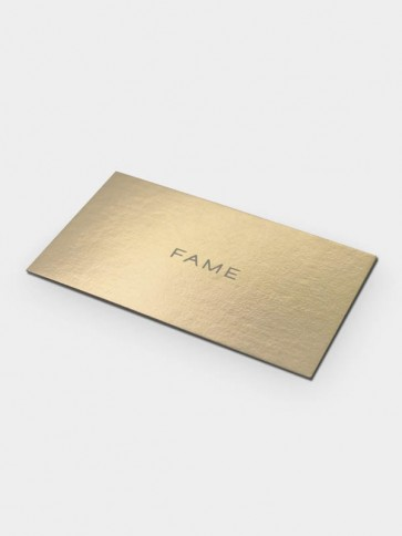 Metallic Business Cards Printing