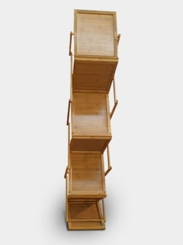 Wooden Zig Zag Brochure Stand