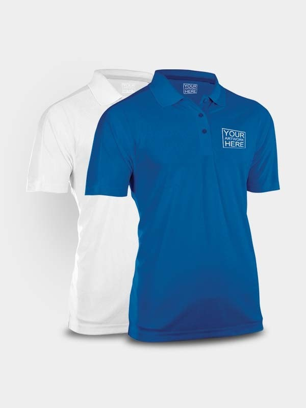 Order best custom polo tshirt printing online at cheapest for Order company polo shirts
