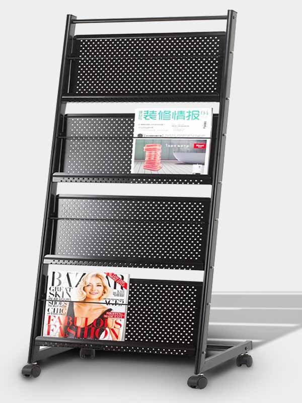 Magazine Stand Designs : Brochure and magazine stand