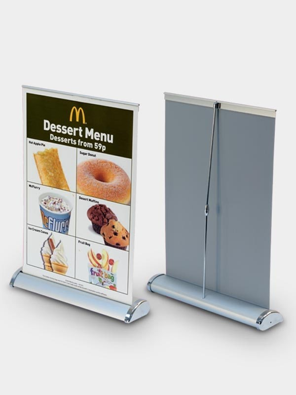 Order And Buy Corporate Mini Rollup Banner Standees Online