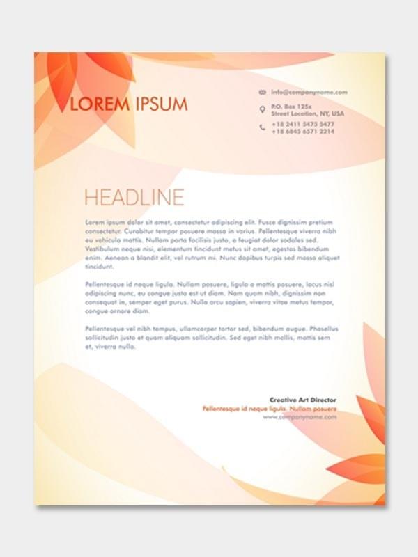 head letter
