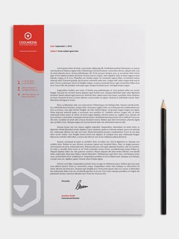 online letter head
