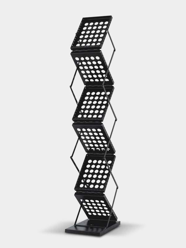zig zag metal foldable table stand