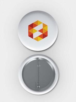 40mm Round Metal Badges