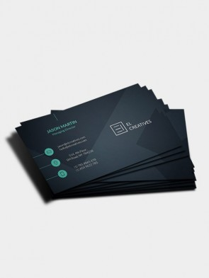 Matte Laminated Business Card Printing