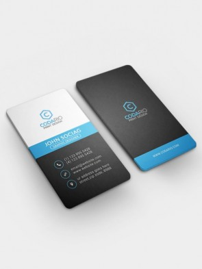 Rounded Cut Business Card Printing