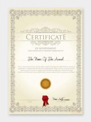 Standard Certificates Printing