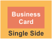 Single Side Business Card