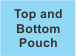 Top and Bottom Pouch