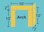 Top Panel 10w 2h 2d Pillars 2w 10h 2d