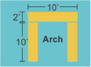 Top Panel 10w 2h Pillars 2w 10h
