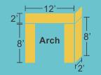 Top Panel 12w 2h 2d Pillars 2w 8h 2d