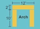 Top Panel 12w 2h Pillars 2w 10h