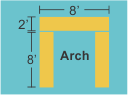 Top Panel 8w 2h Pillars 2w 8h